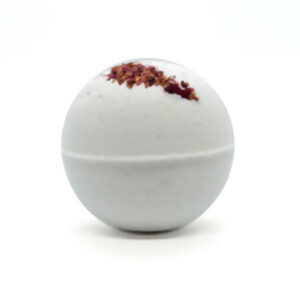 Image of Woods & Meadow CBD Rose Bath Bomb