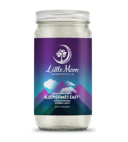Jar of Little Moon Essentials Sleep Comes Easy Mineral Bath Salts